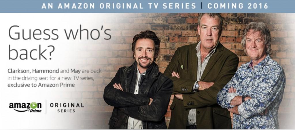 Amazon Clarkson Hammond May