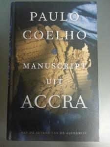 Bestel hier Paulo Coelho Manuscript uit Accra